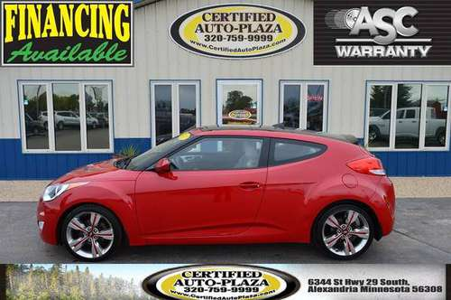 2012 Hyundai Veloster w/Gray Int for sale in Alexandria, ND