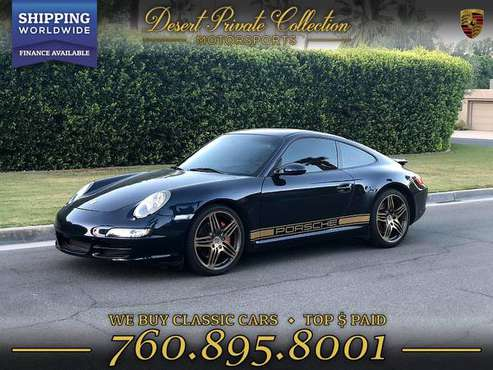 Drive this 2006 Porsche 911 997 Fully Loaded Carrera S + Chrono sport for sale in Palm Desert , CA