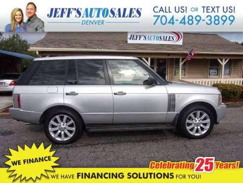 2006 Land Rover Range Rover Supercharged - Down Payments As Low As $79 for sale in Denver, NC