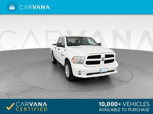 2016 Ram 1500 Quad Cab Express Pickup 4D 6 1/3 ft pickup Off white - for sale in Atlanta, NC