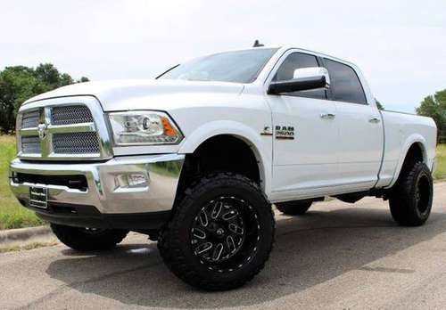 LIMITED LARAMIE EDITION! NEW FUELS! NEW TIRES 2014 RAM 2500 DIESEL 4X4 for sale in Temple, TX