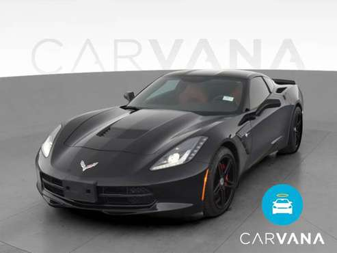 2014 Chevy Chevrolet Corvette Stingray Coupe 2D coupe Black -... for sale in Monterey, CA