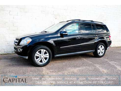 2008 Mercedes GL450 4MATIC! Only $12k! - cars & trucks - by dealer -... for sale in Eau Claire, MN
