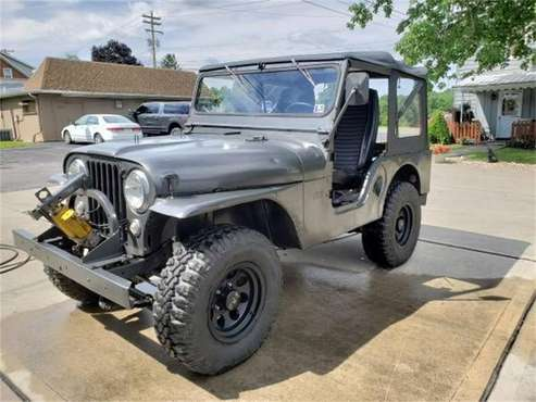1957 Willys Jeep for sale in Cadillac, MI