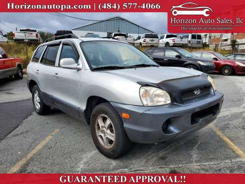 2004 Hyundai Santa Fe 4dr GLS 4WD Auto 2.7L V6 for sale in reading, PA