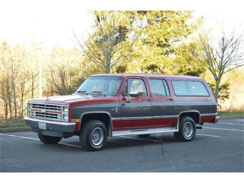 1985 Chevrolet Suburban for sale in Cadillac, MI