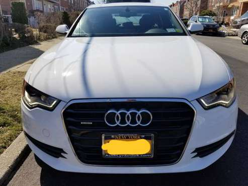 2015 Audi A6, Premium Plus, Low Miles, White on Black for sale in Fresh Meadows, NY
