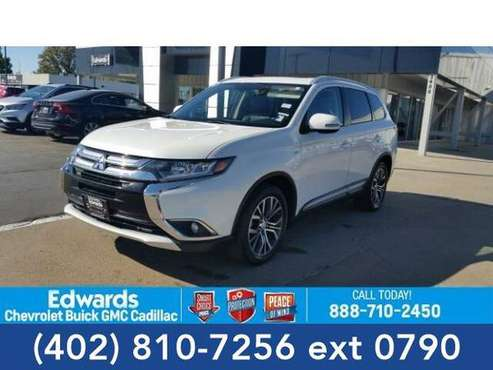 2016 Mitsubishi Outlander SUV GT (Diamond White Pearl) for sale in Council Bluffs, NE