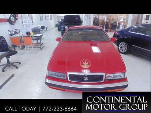 1989 Chrysler TC By Maserati Convertible for sale in Stuart, FL