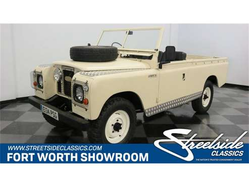 1967 Land Rover Series I for sale in Ft Worth, TX