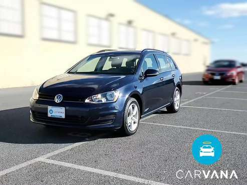 2015 VW Volkswagen Golf SportWagen TDI S Wagon 4D wagon Blue -... for sale in Atlanta, NV