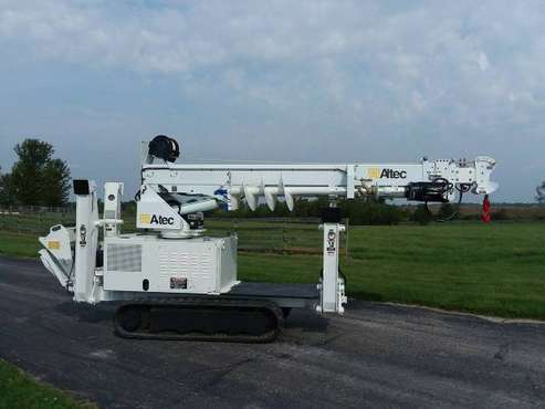 2009 Altec DB37 Backyard Digger Derrick Bucket Crane + Trailer 602 Hr for sale in Gilberts, KY
