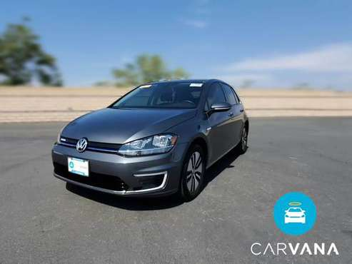 2019 VW Volkswagen eGolf SE Hatchback Sedan 4D sedan Gray - FINANCE... for sale in San Bruno, CA