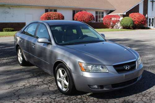 2006 Hyundai Sonata GLS V6, Loaded, 120K for sale in ENDICOTT, NY