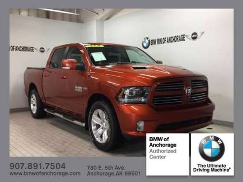 2013 Ram 1500 4WD Crew Cab 140.5 Sport for sale in Anchorage, AK