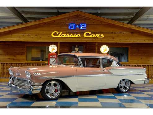 1958 Chevrolet Bel Air for sale in New Braunfels, TX