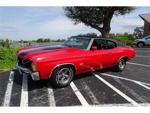 1972 Chevrolet Chevelle SS for sale in Dodge Center, MN