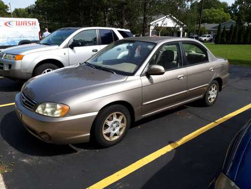 2003 Kia Spectra for sale in Ira Township, MI