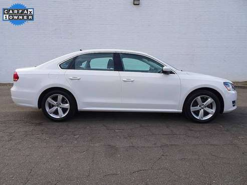 Volkswagen Passat VW TDI SE Diesel Leather w/Sunroof Bluetooth Cheap for sale in Winston-Salem, NC