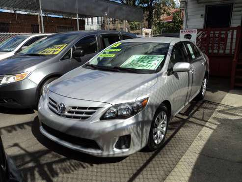 2013 TOYOTA COROLLA LE - cars & trucks - by dealer - vehicle... for sale in Brooklyn, NY