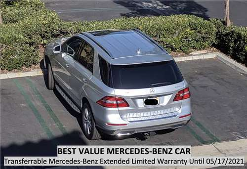 BEST VALUE 2013 Mercedes-Benz ML350 4MATIC 58400 miles t able Warranty for sale in Irvine, CA