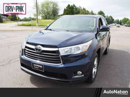 2016 Toyota Highlander Limited Platinum AWD All Wheel SKU:GS346504 for sale in Englewood, CO
