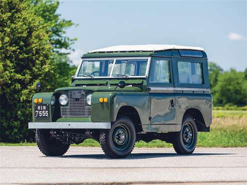 1966 Land Rover Series IIA for sale in Auburn, IN