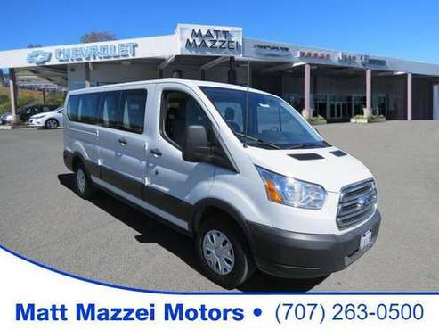 2019 Ford Transit-350 van XLT (Oxford White) - cars & trucks - by... for sale in Lakeport, CA