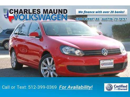 2011 VW Volkswagen Jetta SportWagen TDI hatchback Red for sale in Austin, TX