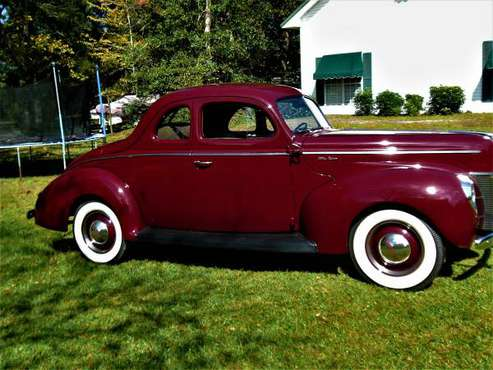 1940 Ford Deluxe coupe .excellent - cars & trucks - by owner -... for sale in Mobile/Saraland, TN