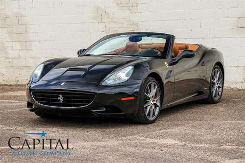 "Beautiful 2011 Ferrari California w/Carbon Wheel, Nav & 20"" Wheel Pkg! for sale in Eau Claire, MI"
