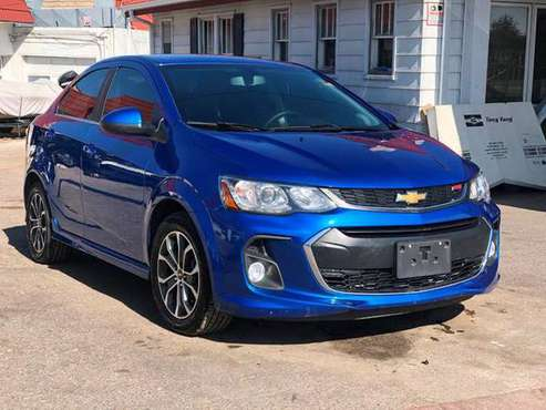 2017 Chevrolet Sonic REPAIRABLE,REPAIRABLES,REBUILDABLE,REBUILDABLES for sale in Denver, TX
