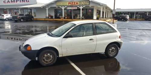 96 geo metro 3 cylinder 5 speed for sale in Netarts, OR