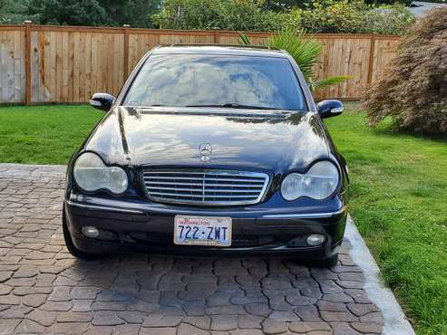2002 Mercedes Benz C240, great condition!! asking $3200 OBO for sale in Renton, WA