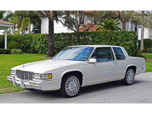 1991 Cadillac Coupe DeVille for sale in West Palm Beach, FL