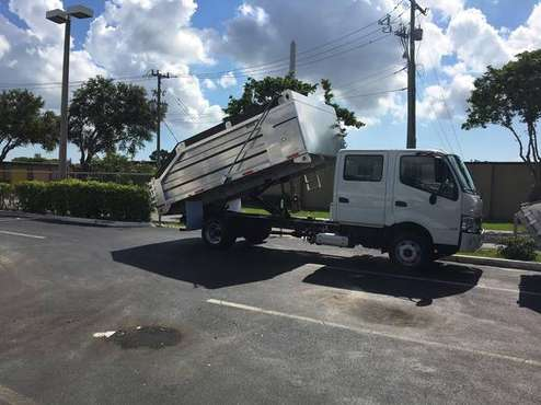 2020 Hino 155, 14ft alum dump. Warranty, Call Mike for sale in south florida, FL
