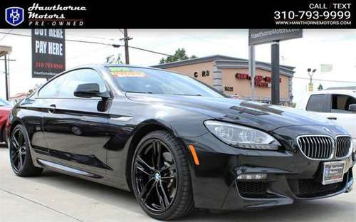 2015 BMW 6 Series 640i for sale in Lawndale, CA