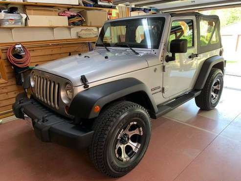 2011 Jeep Wrangler, 11,000 actual miles - cars & trucks - by owner -... for sale in Marion, MO