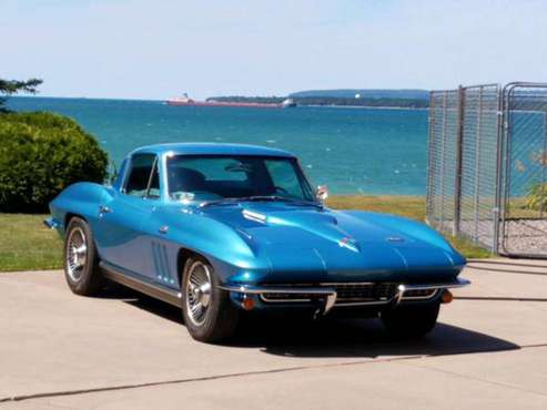Chevrolet Chevy Corvette Coupe 1966 - cars & trucks - by owner -... for sale in Sault Ste. Marie, NC