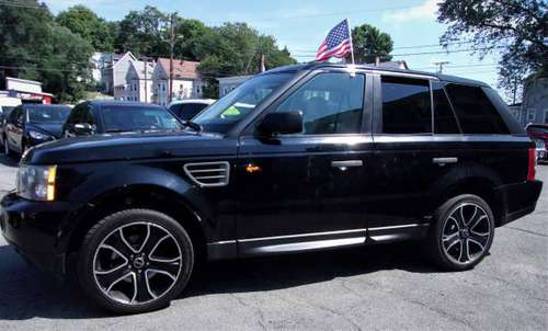 2008 Range Rover Sport HSE 4.4L(300hp)EVERYONE is APPROVED@Topline... for sale in Haverhill, MA