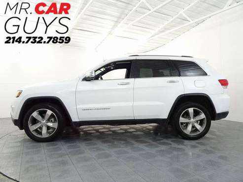 2014 Jeep Grand Cherokee Limited Rates start at 3.49% Bad credit also for sale in McKinney, TX