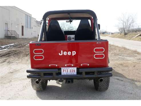 1986 Jeep CJ7 for sale in Cadillac, MI