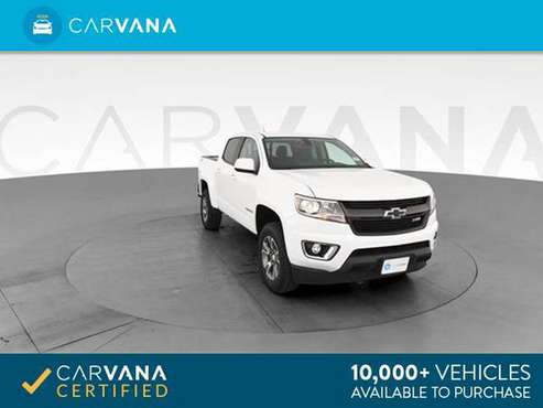 2016 Chevy Chevrolet Colorado Crew Cab Z71 Pickup 4D 5 ft pickup WHITE for sale in Sacramento , CA