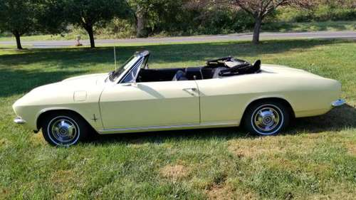 1965 Corvair Convertable 52000 miles. for sale in West Willow, PA