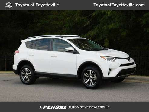 2016 *Toyota* *RAV4* *FWD 4dr XLE* WHITE for sale in Fayetteville, AR