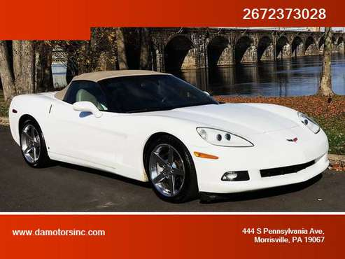 2006 Chevrolet Corvette - Financing Available! - cars & trucks - by... for sale in Morrisville, PA
