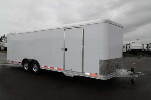2019 Featherlite 4928 Enclosed Car / Racing Trailer 24' - Cable Assist for sale in Albany, OR