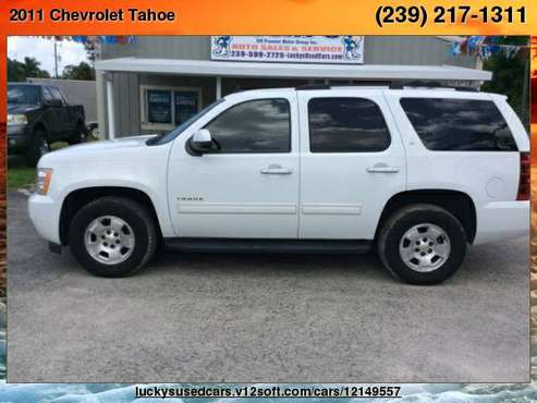 2011 Chevrolet Tahoe LT Sport Utility 4D Lucky's SW Premier Motors for sale in North Fort Myers, FL