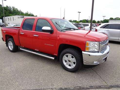 2013 Chevy Silverado LT Crew 4x4 for sale in Wautoma, WI