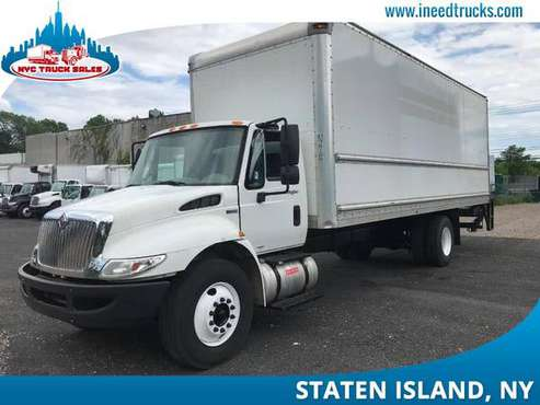 2011 INTERNATIONAL 4300 26' FEET NON CDL LIFT GATE 26FT BOX T-brooklyn for sale in STATEN ISLAND, NY